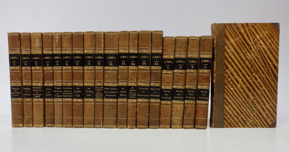 FOKKE SIMONSZ., A. Verzameling der werken. Amst., J.C. v. Kesteren, 1830-35. 12