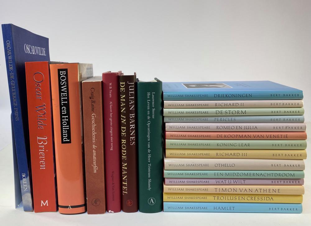 SHAKESPEARE, W. (Werken). Vert. d. G. Komrij. 1988-95. 14 vols. Ocl. w