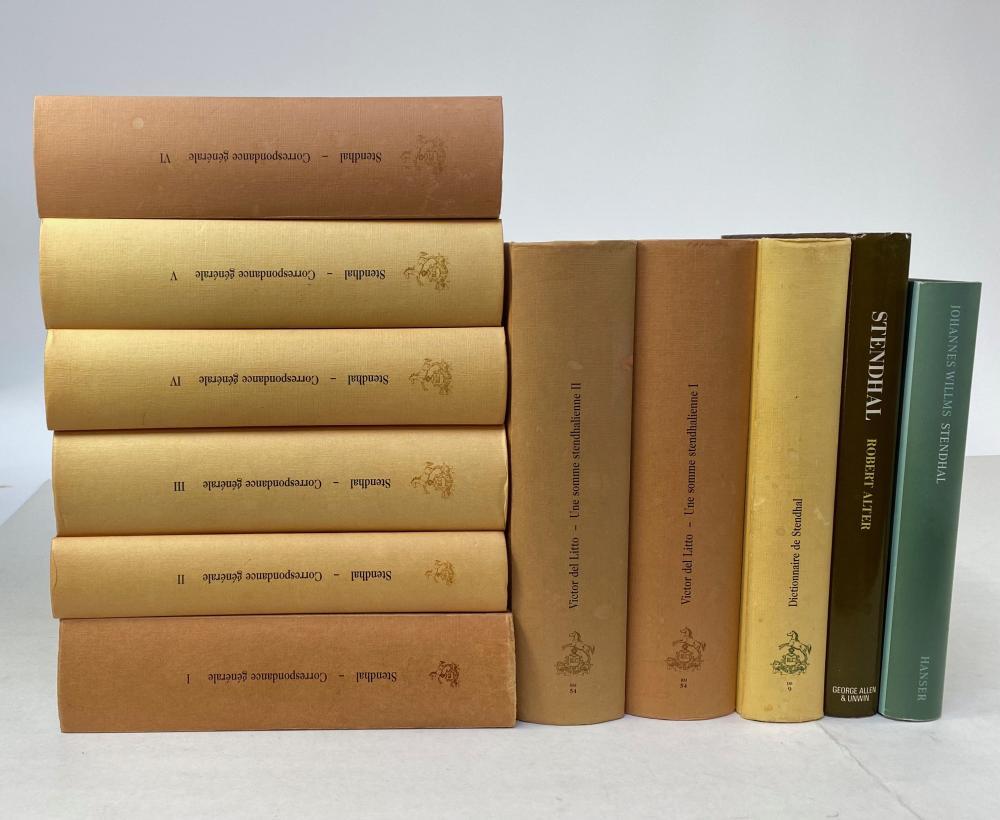 STENDHAL. (=M.-H. Beyle). Correspondance générale, 1800-42. Ed. V. Del Litto. Par