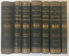 EVANS, A. The Palace of Minos. A comparative account of the successive stag