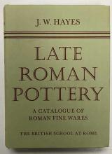 HAYES, J.W. Late Roman pottery. A catalogue of Roman fine wares. Lond., 197