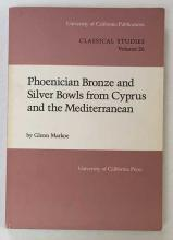 MARKOE, G. Phoenician bronze and silver bowls from Cyprus and the Mediterra