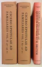 CICERO. Epistulae ad familiares. Ed. by D.R. Shackleton Bailey. Cambr., (19