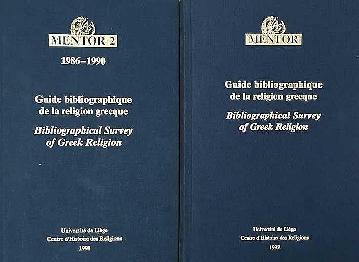 MOTTE, A., (e.a.). Mentor. Guide bibliographique de la religion grecque. Bi