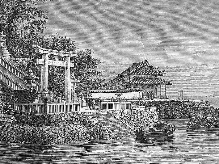 CHINA - JAPAN -- HUMBERT, A. Le Japon illlustré. Paris, L. Hachette, 1870.