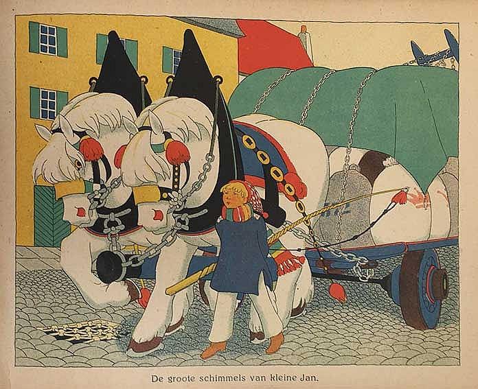 MULLERFURER, K. Uit huis en hof. Versjes van H.B.T. Utr., W. de Haan, (1921