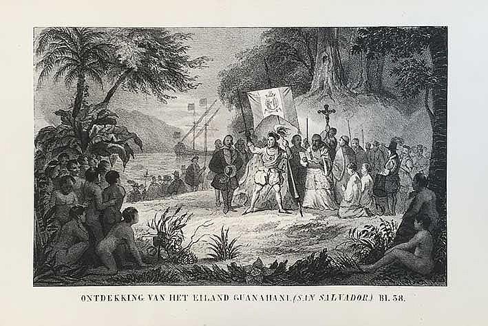 WEEDA, P. Geschiedenis van de ontdekking der West-Indische eilanden en het