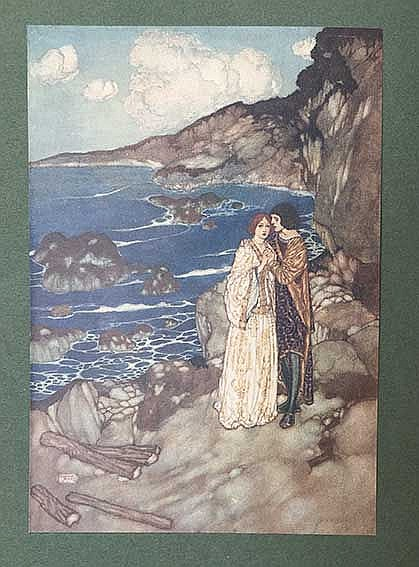 DULAC -- SHAKESPEARE, W. The tempest. Lond., Hodder & Stoughton, (n.d., 190