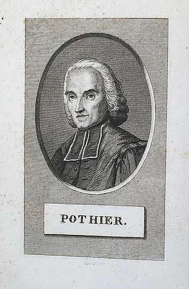 POTHIER, R.-J. Œuvres. Nouv. éd. Par., 1817-20. 13 vols. W. front.-portr. C
