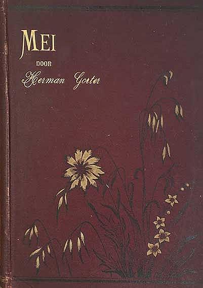 GORTER, H. Mei. Een gedicht. Amst., W. Versluys, 1889. (4), 194 pp. Or. dec