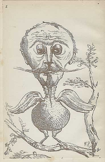 BESTIARY -- K(OCH), F.K. & M.S. K(OCH). Antediluvianisches Bilderbuch, zur