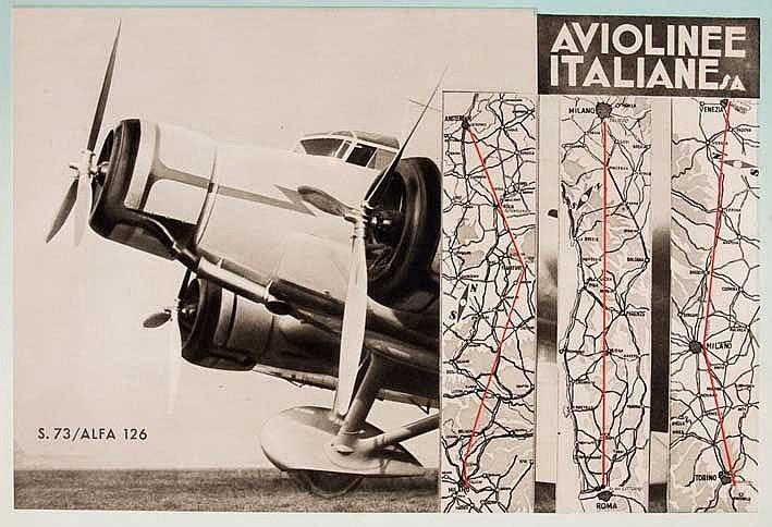 ALFA ROMEO AVIAZIONE. Documentario. (Milan, Rizzoli & C., 1938). W. 26 lvs.