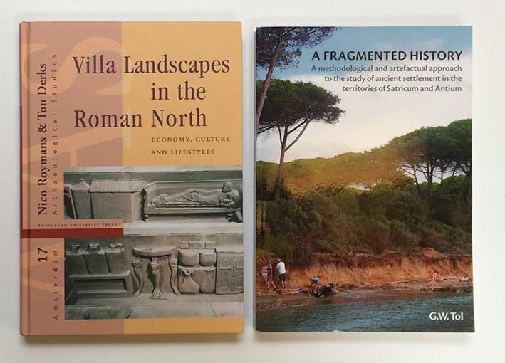 ROYMANS, N & T. DERKS, eds. Villa landscapes in the Roman North. Economy, c