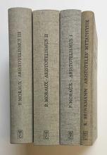 ARISTOTELES -- MORAUX, P. Der Aristotelismus bei den Griechen. Berlin, 1973