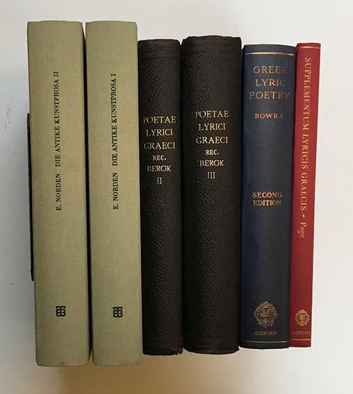 POETAE LYRICI GRAECI. 4a cur. rec. Th. Bergk. Pars 2-3: Poetae elegiaci et