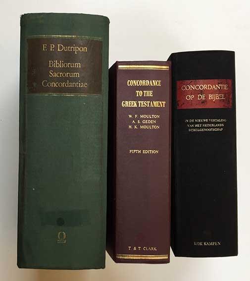 BIBLIORUM SACRORUM CONCORDANTIAE Vulgatae ed. Cura et studio F.P. Dutripon.