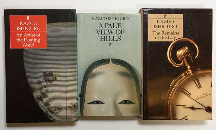ISHIGURO, K. A pale view of hills. (Lond.), Faber & Faber, (1982). Obrds. w