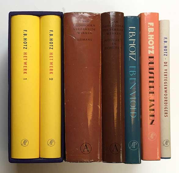 HOTZ, F.B. Het werk. Amst., (1997). 2 vols. Ocl. w. dust-j. In ocl. box. --