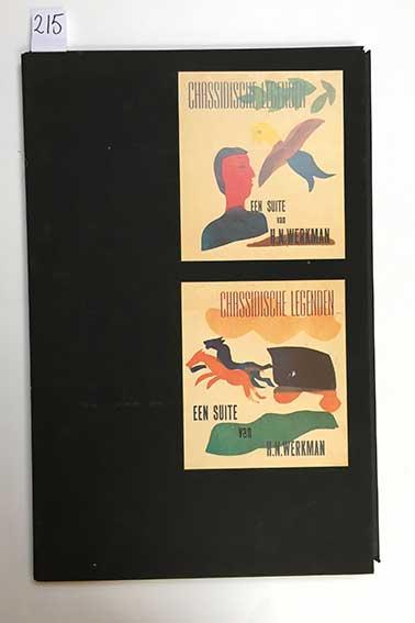 WERKMAN, H.N. Chassidische legenden/Hasidic legends. Gron., 1985. 1 vol. of
