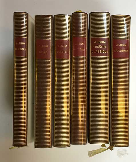 PLÉIADE, BIBLIOTHEQUE de la. Paris, Éd. Gallimard. Or. limp leather, gilt b