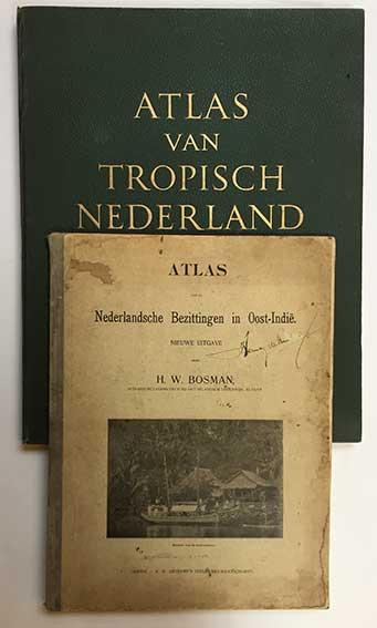 BOSMAN, H.W. Atlas v.d. Nederlandsche Bezittingen in Oost-Indië. Nieuwe uit