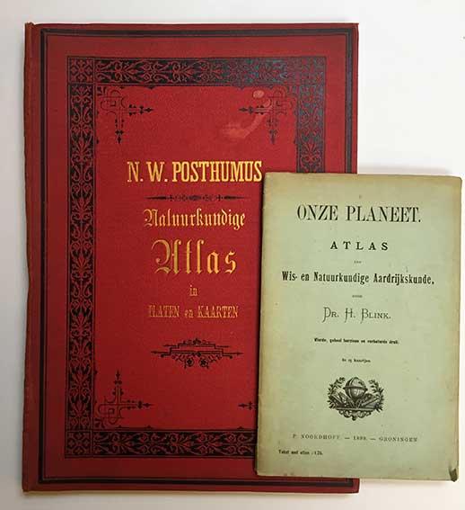 POSTHUMUS, N.W. Atlas, voornamelijk ten gebruike bij het onderwijs in de na