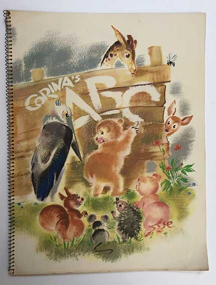 ABC BOOKS -- CORINA (= C.A. Smit). A.B.C. (Amst., Van Leer & Co., n.d. (=19