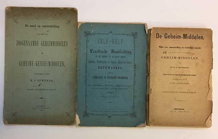OPWIJRDA, R.J. De aard en samenstelling v.e. tal zoogenaamde geheimmiddelen