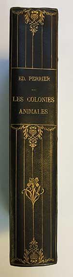 PERRIER, E. Les colonies animales et la formation des organismes. Par., G.