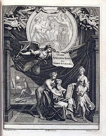 PAINTING/DRAWING -- LAIRESSE, G. de. Groot Schilderboek, Waar in de Schilde