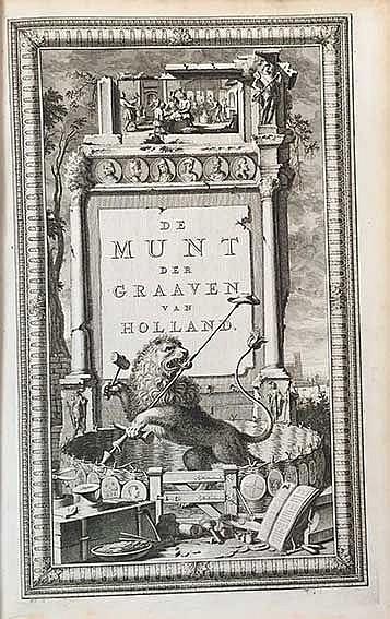 NUMISMATICS -- ALKEMADE, K. v. De goude en zilvere gangbare penningen der g