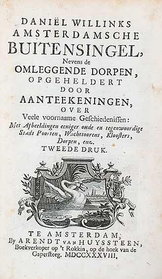 AMSTERDAM -- WILLINK, D. Amsterdamsche buitensingel, nevens de omleggende d