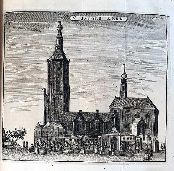 DELFLAND -- (HEUSSEN, H. v.). Oudheden & gestichten van Delft & Delfland, m