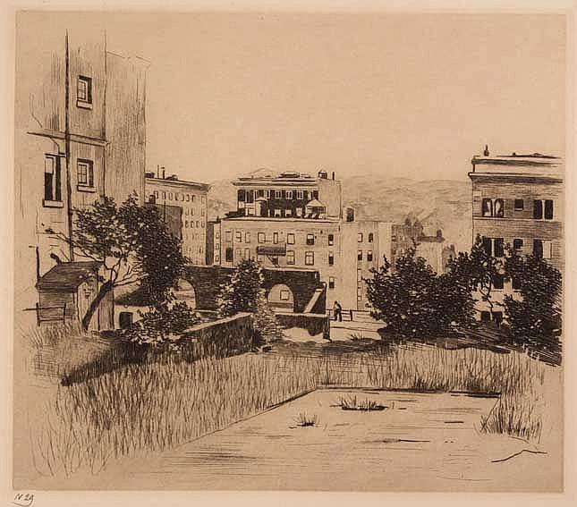 WITSEN, Willem Arnold ('Willem') (1860-1923). 'Sutter Street, San Francisco