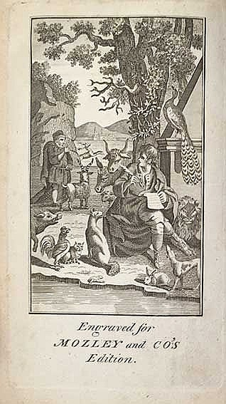 AESOPUS. Fables of Æsop and others: Transl. into English by S. Croxall. Lon