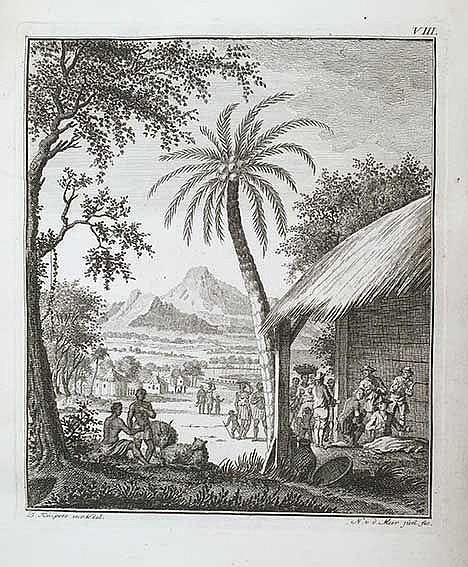 MARITIME HISTORY - TRAVELLING -- ANSON, G. Reize naer de Zuidzee, met het s