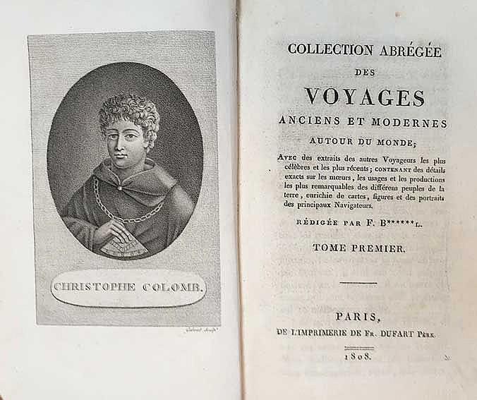 MARITIME HISTORY - TRAVELLING -- B(ANCAREL), F., (réd.). Collection abrégée