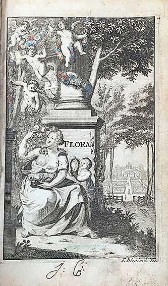 BOTANY -- (OOSTEN, H. v.). De naukeurige bloemist, of de nieuwe Nederlandsc