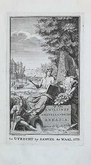 AMSTELLAND -- WILLINK, D. Amstellandsche arkadia, of Beschryving van (...)