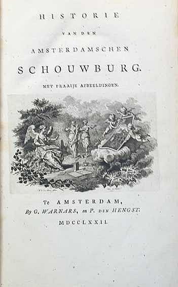 AMSTERDAM -- (FOKKE, J.). Historie van den Amsterdamschen schouwburg. Amst.