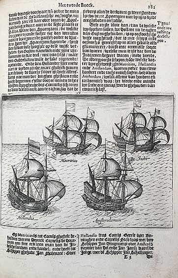 AMSTERDAM -- PONTANUS, J.I. Historische Beschrijvinghe der seer wijt beroem