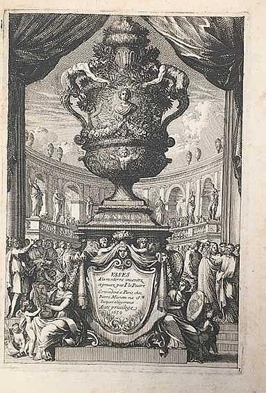 (ARCHITECTURAL) ORNAMENTATION -- LE PAUTRE, J. Vases à la moderne. Par., P.