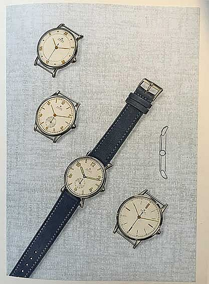 CLOCKS & WATCHES -- CHAPUIS, A. & E. JAQUET. Rolex Jubiläum 1905-1920-1945.