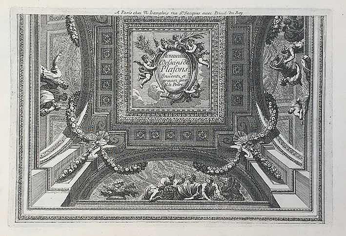 (ARCHITECTURAL) ORNAMENTATION -- LE PAUTRE, J. (Cheminées à la moderne) nou