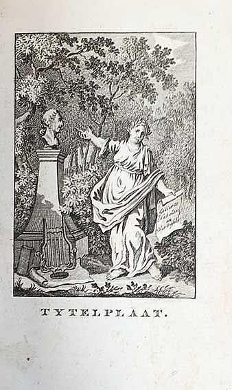 FABLES -- GELLERT, C.F. Fabelen en vertelsels, in Nederduitsche vaerzen gev