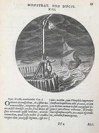 EMBLEM BOOKS -- CATS, J. Monita amoris virginei. Maechden-plicht ofte ampt
