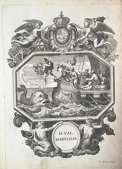 MARTIALIS. Epigrammatum libros XV. Interpret. et notis illustr. V. Collesso