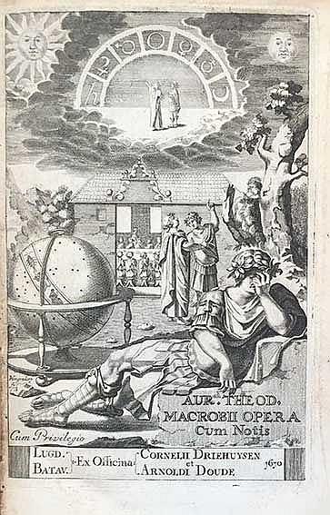 MACROBIUS. Opera. Acced. notæ integræ I. Pontani, J. Meursii, J. Gronovii.