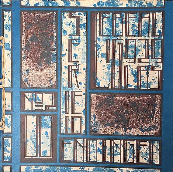WENDINGEN. Jg. X, 2: LEBEAU, C. Glas. Amst., 1929. Lge-4°. Owrps. w. cold.