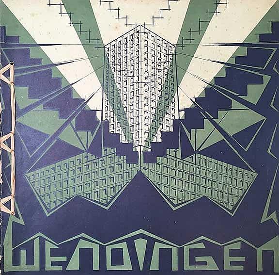 WENDINGEN. Jg. V, 3: H.Th. WIJDEVELD & A. BEHNE. Torenhuizen. 1923. Lithogr